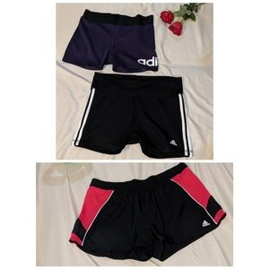 3 Addidas Shorts Bundle Size X Large XL